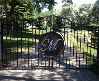 Ornamental Iron Fencing, Gate, & Railings